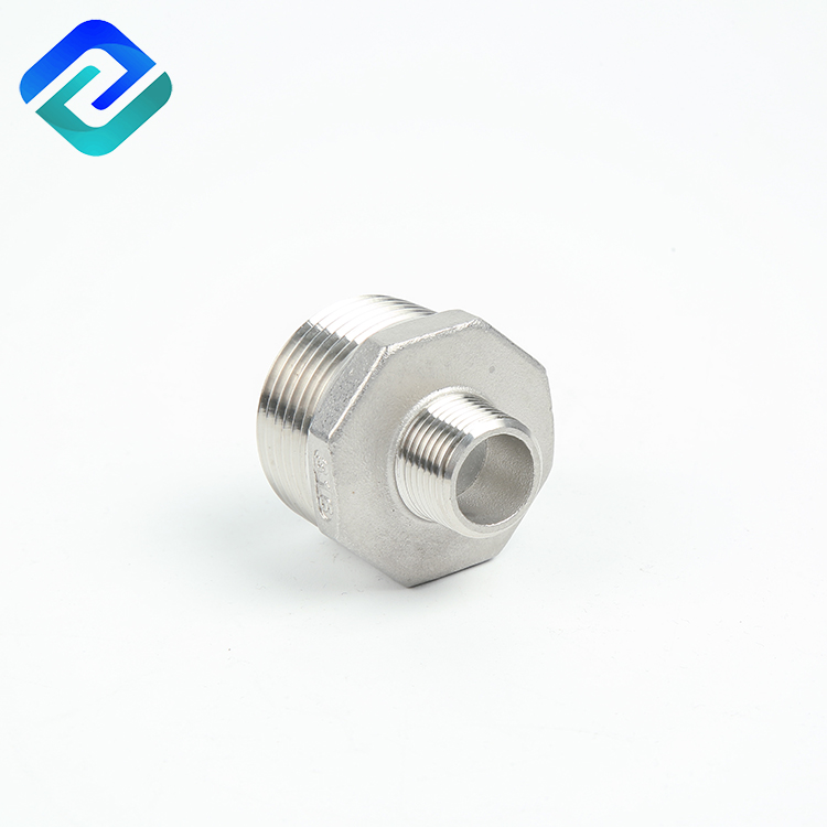 investment precision casting stainless steel reducer hex joint